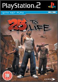 Okładka 25 to Life (PS2)