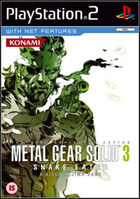 Game Metal Gear Solid 3: Snake Eater (PS2) Cover
