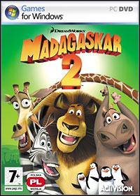 Madagascar: Escape 2 Africa Game Box