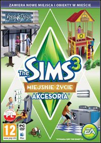 Gra The Sims 3: Town Life Stuff (PC)