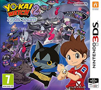 Game Yo-kai Watch 2: Psychic Specters (3DS) Cover