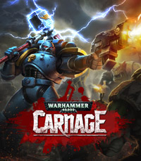 Okładka Warhammer 40,000: Carnage (AND)