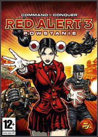 Okładka Command & Conquer: Red Alert 3 - Uprising (PC)