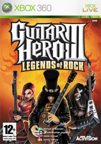 Okładka Guitar Hero III: Legends of Rock (X360)