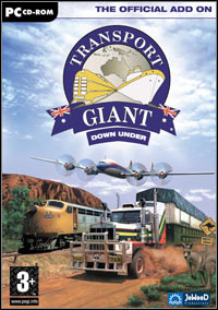 Transport Giant: Down Under Game Box
