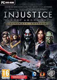 Okładka Injustice: Gods Among Us Ultimate Edition (PC)