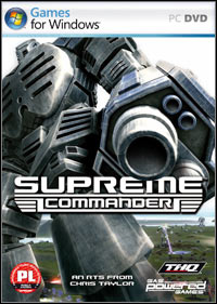 Okładka Supreme Commander (PC)