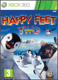 Happy Feet Two: The Videogame Game Box