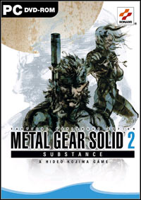 Okładka Metal Gear Solid 2: Substance (PC)