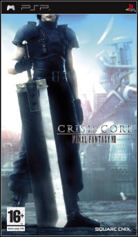 Game Crisis Core: Final Fantasy VII (PSP) Cover