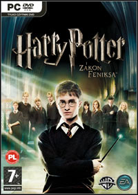 Okładka Harry Potter and the Order of the Phoenix (PC)