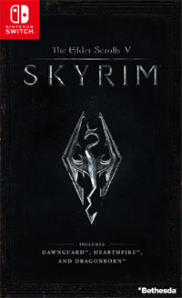 Game The Elder Scrolls V: Skyrim Special Edition (Switch) Cover