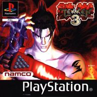 Tekken 3 Game Box