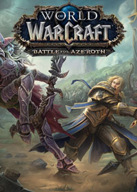 World of Warcraft: Battle for Azeroth Game Box