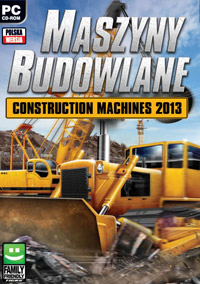 Construction Machines 2013 Game Box