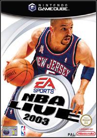 NBA Live 2003 (GameCube) ok?adka