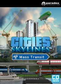 Game Cities: Skylines - Mass Transit (PC) Cover