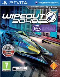 WipEout 2048 Game Box