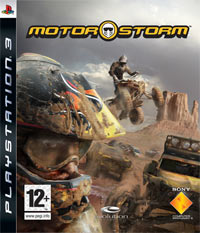Game MotorStorm (PS3) Cover