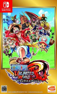 Game One Piece: Unlimited World Red Deluxe Edition (Switch) Cover