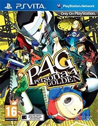 Game Shin Megami Tensei: Persona 4 – The Golden (PSV) Cover