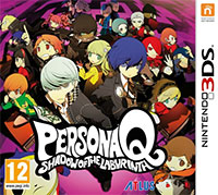 Game Persona Q: Shadow of the Labyrinth (3DS) Cover