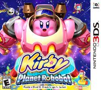 Game Kirby: Planet Robobot (3DS) Cover
