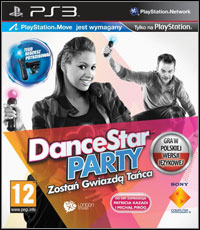 Game DanceStar Party (PS3) Cover
