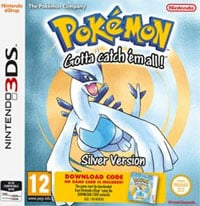 Game Pokemon Silver (3DS) Cover