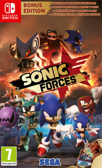 Okładka Sonic Forces (Switch)