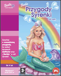 Okładka Barbie Mermaid Adventure (PC)
