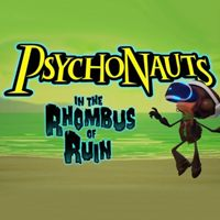 Game Psychonauts in the Rhombus of Ruin (PS4) Cover