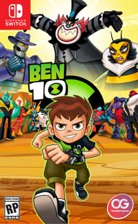 Okładka Ben 10 (Switch)