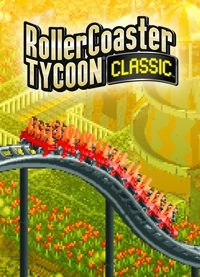 RollerCoaster Tycoon Classic Game Box
