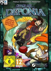 Chaos on Deponia (2012/Multi2/RePack) by R.G. Mechanics