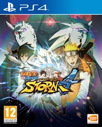 Game Naruto Shippuden: Ultimate Ninja Storm 4 (PS4) Cover