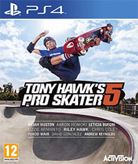 Okładka Tony Hawk's Pro Skater 5 (PS4)
