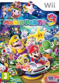 Game Mario Party 9 (Wii) Cover