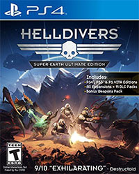 Game Helldivers (PS3) Cover