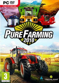 Okładka Pure Farming 2018 (PC)