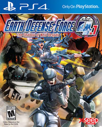 Game Earth Defense Force 4.1: Wing Diver The Shooter (PS4) Cover