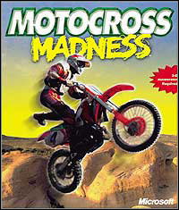 Motocross Madness Game Box