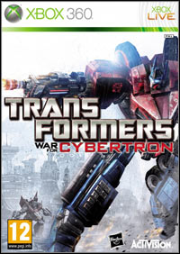 Okładka Transformers: War For Cybertron (X360)