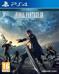 Final Fantasy XV Game Box