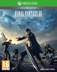 Game Final Fantasy XV (PS4) Cover
