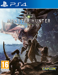 Okładka Monster Hunter: World (PS4)