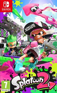 Game Splatoon 2 (Switch) Cover