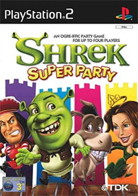 Okładka Shrek Super Party (PS2)