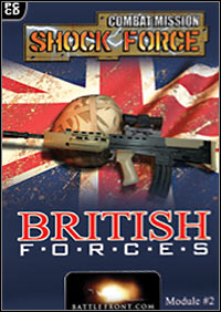 Combat Mission: Shock Force - British Forces (PC) ok?adka