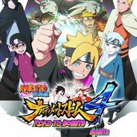 Game Naruto Shippuden: Ultimate Ninja Storm 4 - Road to Boruto (PS4) Cover